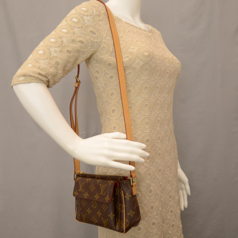 Fashionphile - LOUIS VUITTON Monogram Viva-Cite PM 1f261880bf121