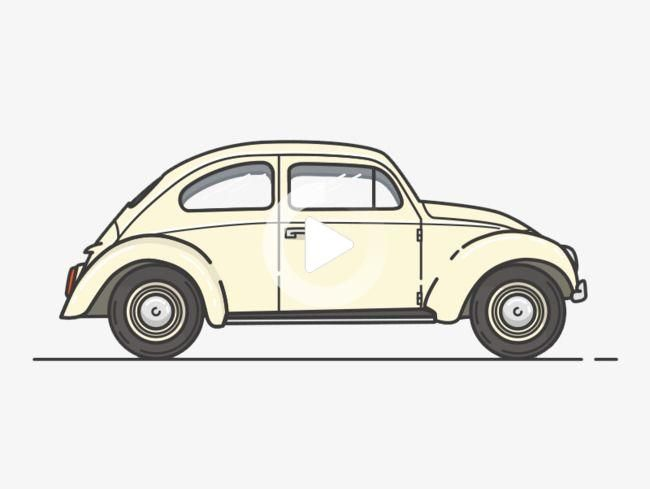 Creative Cartoon Classic Car Side View Cartoon Clipart Car Clipart Cartoon Png Transparent Car Cartoon Cartoons Png Cartoon Clip Art