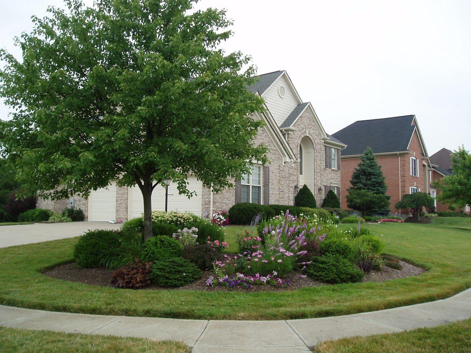 4905 Hampton Pond Lane Exterior Corner Landscaping Acreage Landscaping Landscape Design