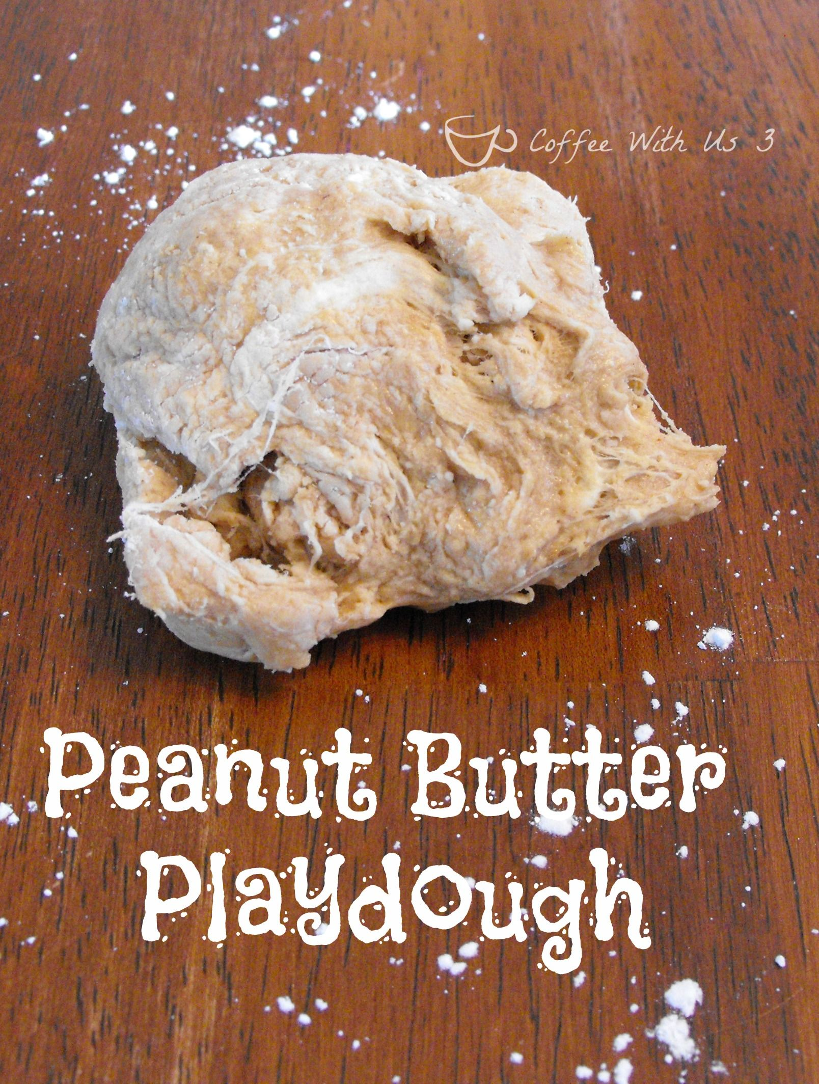 Peanut Butter Playdough