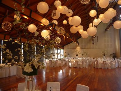 Adelaide Wine Centre Lush Lighting Lanterns Wedding Venue Decorations The Veil
