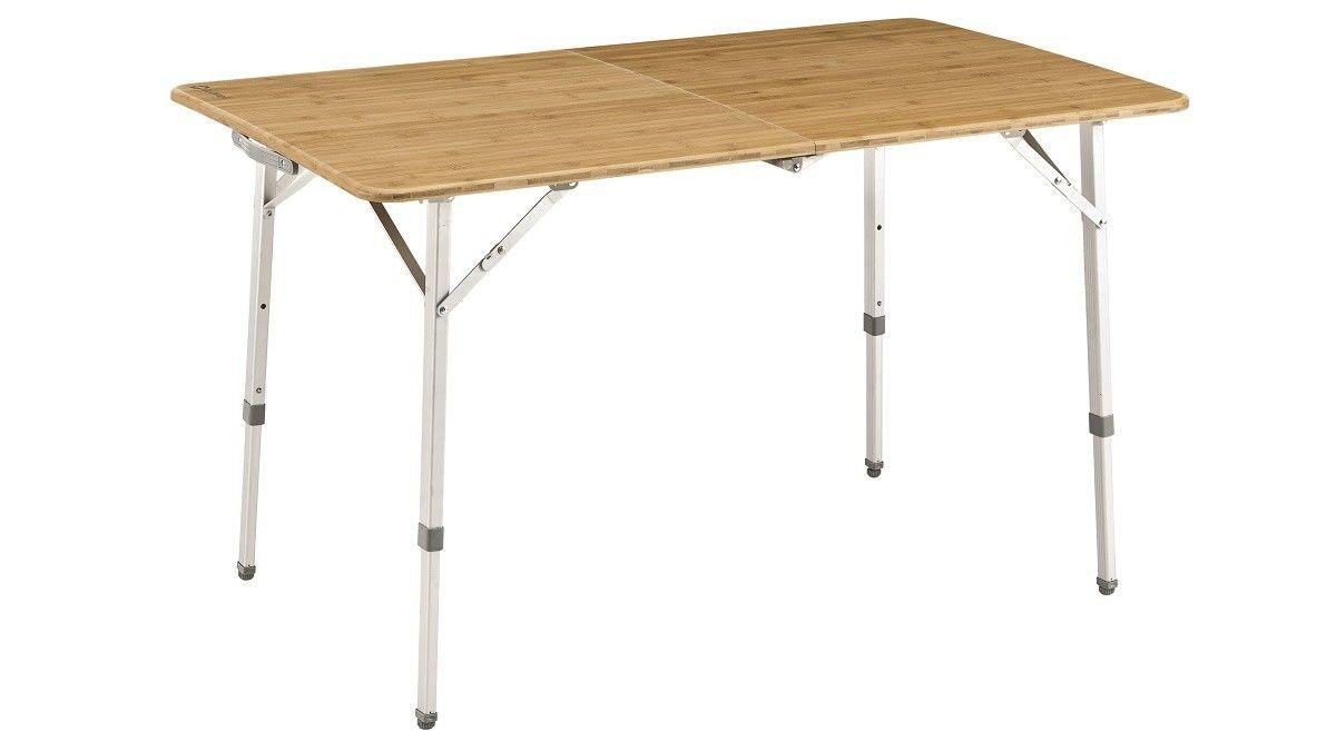 Gelert Bamboo Folding Table