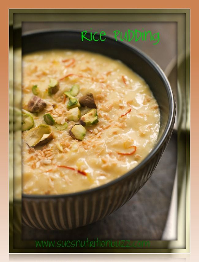 Kheer : Healthy Creamy Rice Pudding with Coconut Milk ...