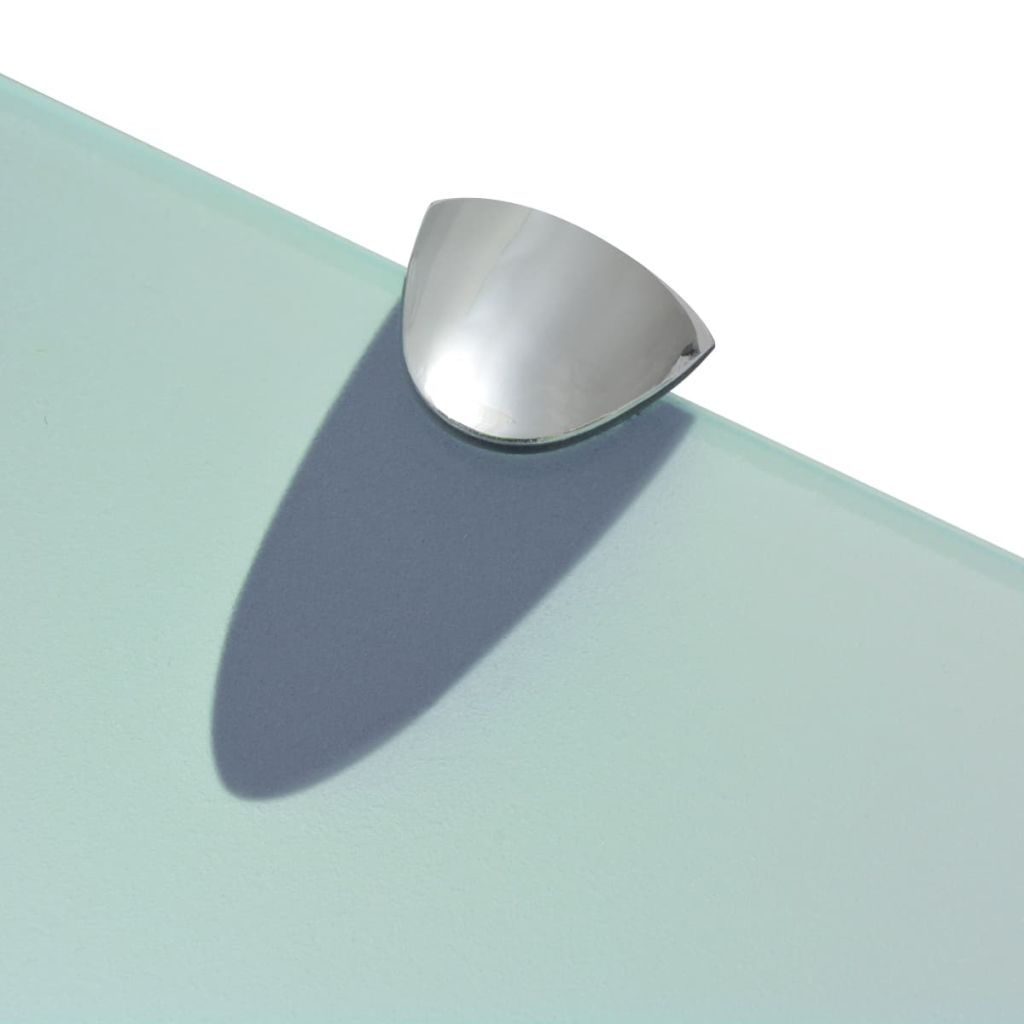 Photo of ZUN Floating Shelf Glass 23.6″x7.9″ 0.3″ 243781