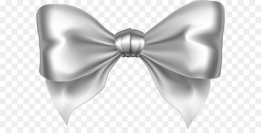 Silver Ribbon Silver Bow Png Download Silver Bow Bows Ribbon Bows