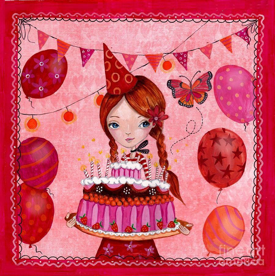 открытки для каролины на день рождения том, что полочки