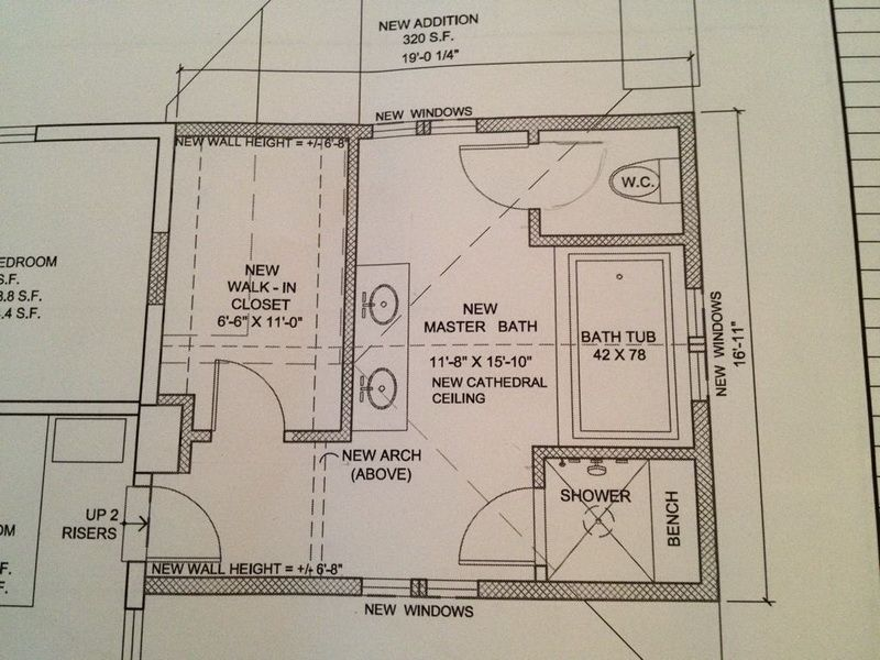 image result for master bathroom layout - Bathroom Design Layout Ideas