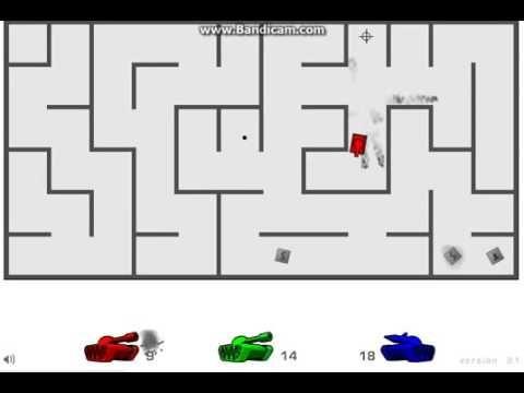 Tank Trouble 2 Gameplay Walkthrough 3 Player Play Three