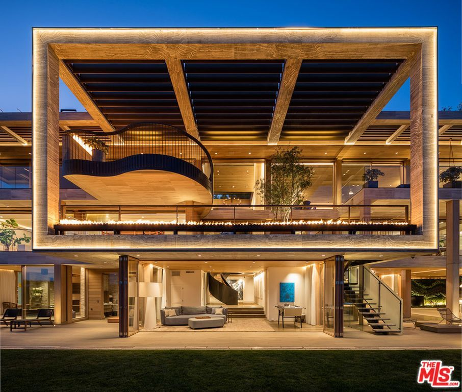 Luxury House In Los Angeles California: 822 Sarbonne Rd, Los Angeles, CA 90077 In 2019