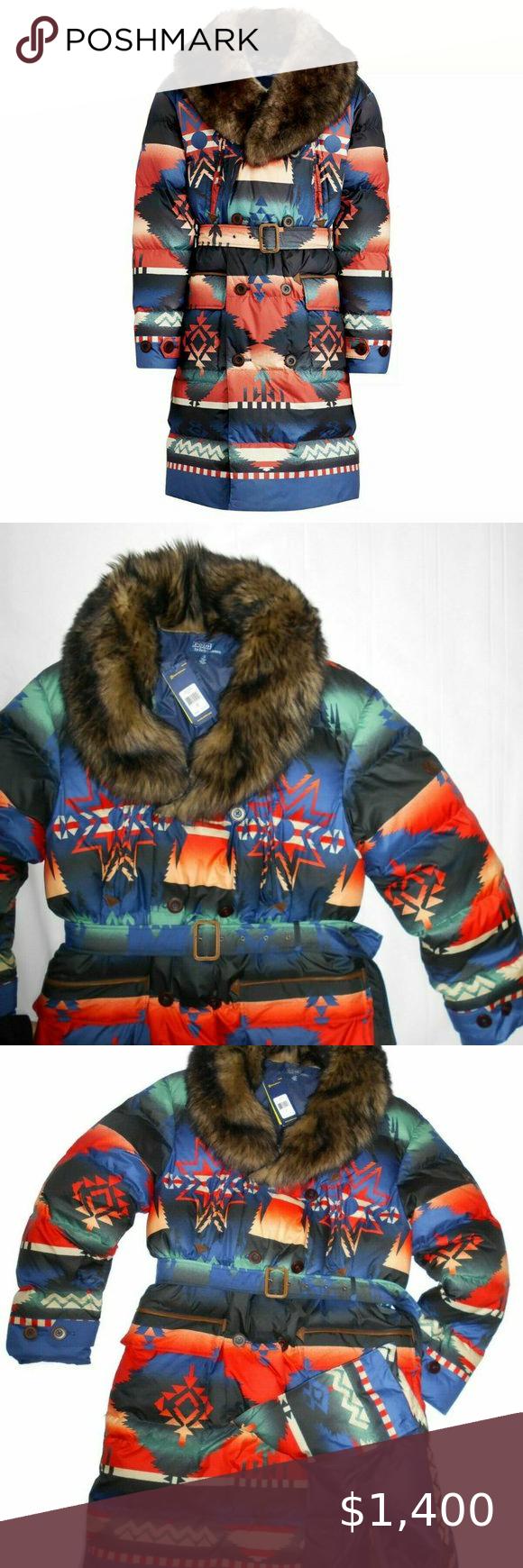 Polo Ralph Lauren Shearling Puffer Coat Jacket Xl Polo Ralph Lauren Mens Shearling Fur Down Southwestern P Puffer Coat Polo Ralph Lauren Ralph Lauren Jackets [ 1740 x 580 Pixel ]