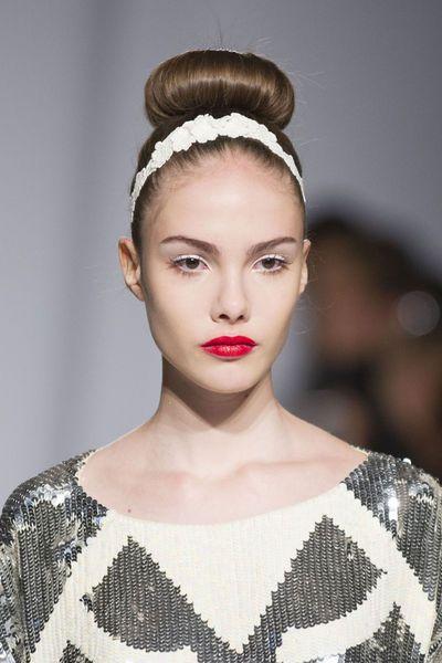 EN IMAGES. Nos coups de coeur beauté aux dernières Fashion Weeks printemps été 2014 | Tendances ...