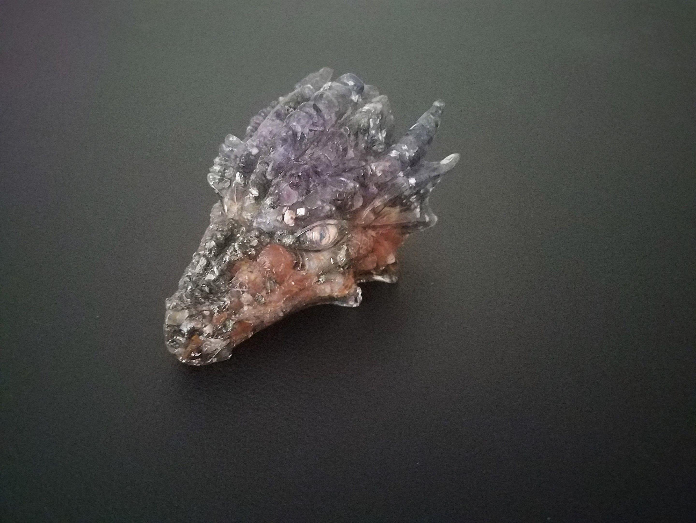 Crystal orgone energy dragon