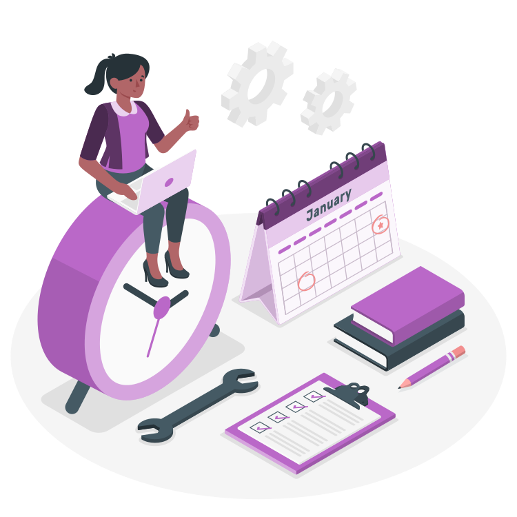 Time Management Isometric Business Concept Clock Clipart Time Project Png And Vector With Transparent Background For Free Download Isometric Project Organization Organization Planning
