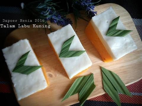 Resep Talam Labu Kuning Oleh Retno Nia Sari Xenia S Kitchen Resep Labu Kue Resep