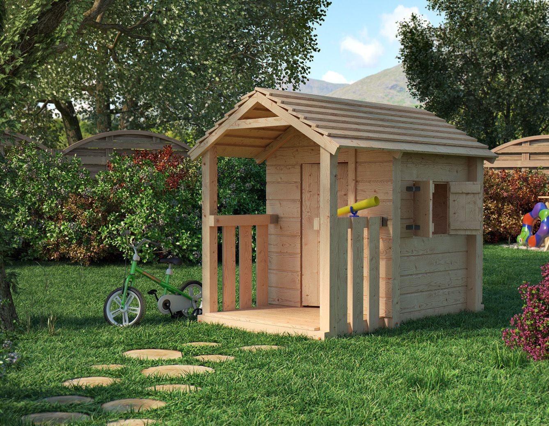 Climbim Spielhaus mit Veranda für die Kleinen real