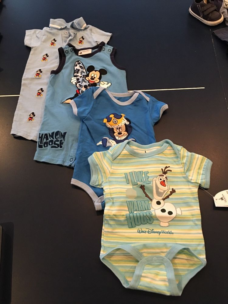 6944d5de4 Disney One Pieces 12 Month 4 Sets Boys Mickey And Zoloft #fashion ...