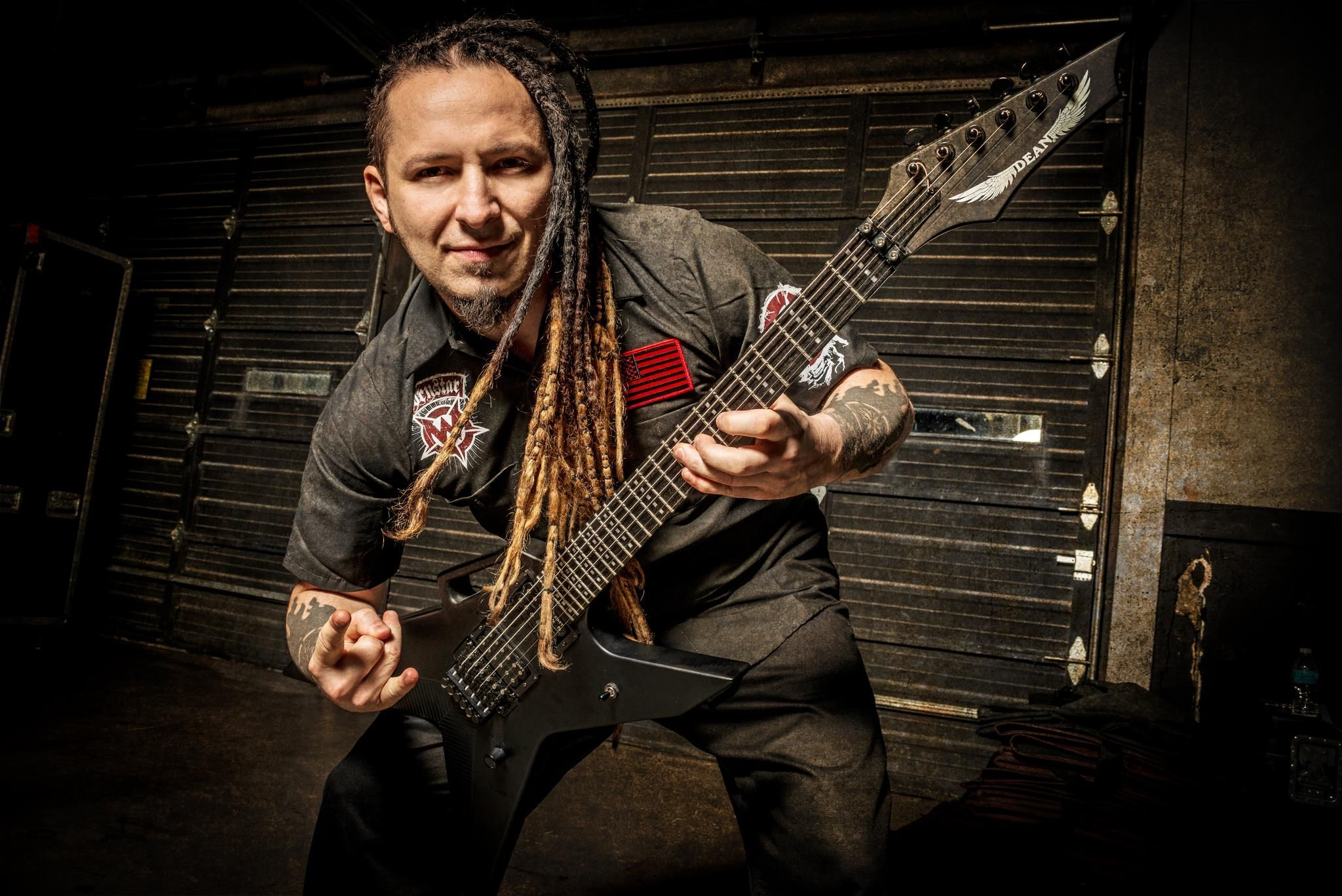 zoltan bathory - of five finger death punch - dean ar-6 stealth