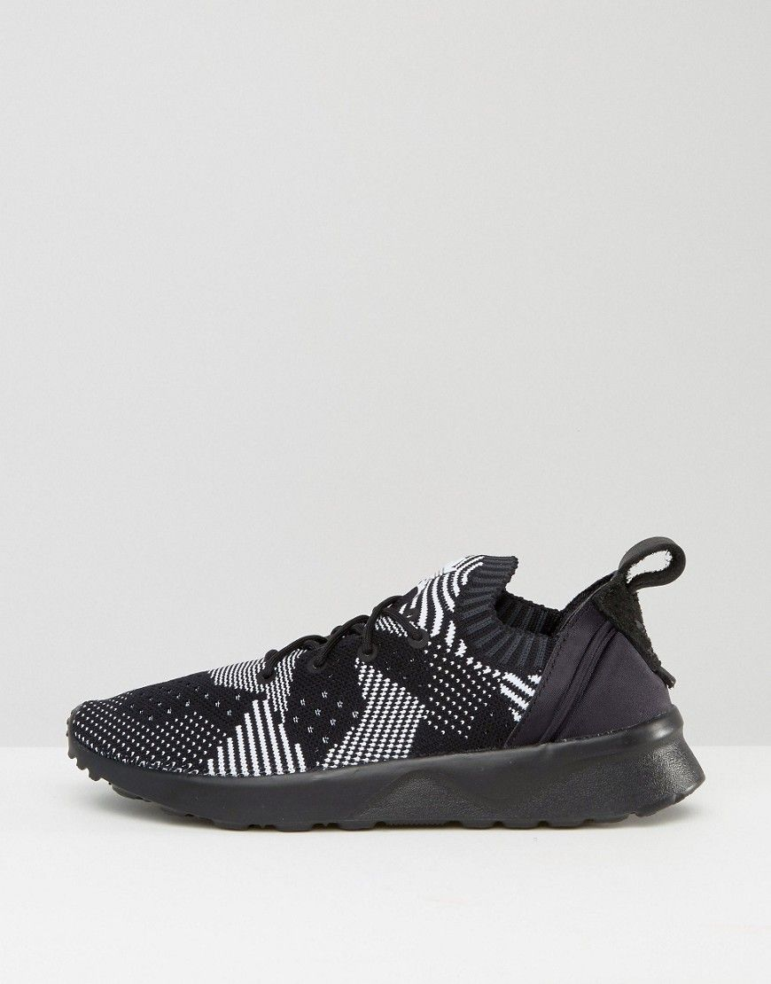 new concept ad24f f222b adidas ZX FLUX ADV Virtue Performance Sneakers - Black ...