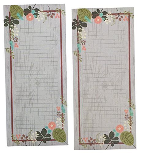 Meadowsweet Kitchens GLP/VF2 2 Count Grocery List Notepad.