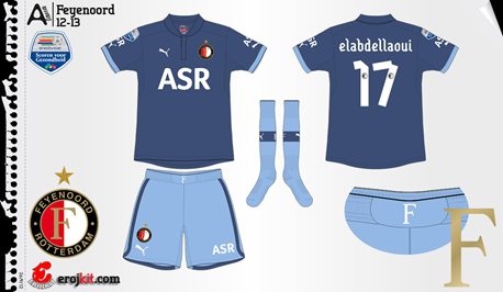 Feyenoord   away jersey   2012-13