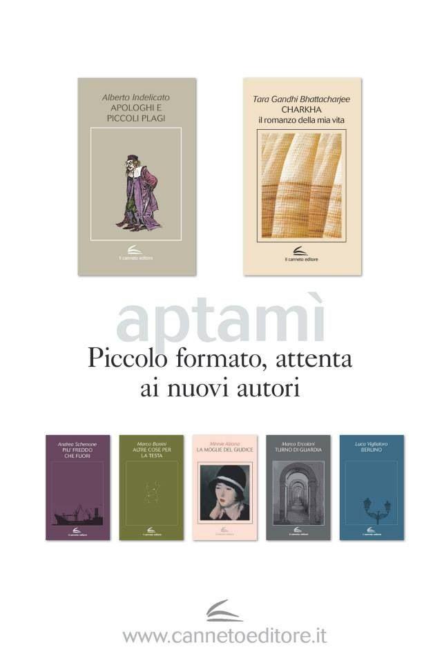 Il Canneto Editore, collana Aptamì (Raffaella Valenti, 2013)