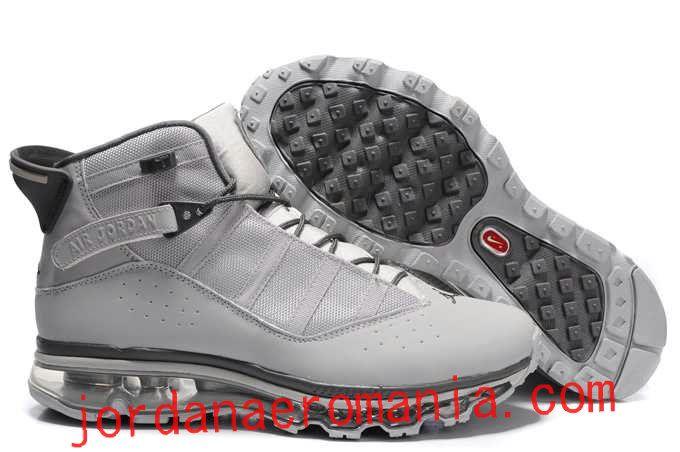 online retailer cb9fb 3a55e Acheter Chaussures Air Jordan 6(Six) Rings Air Max 2009 Sole Fusion  Blanc Charcoal Gris  JordanAeroMania.com