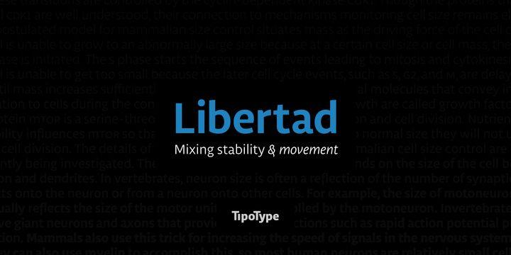 Font: Libertad