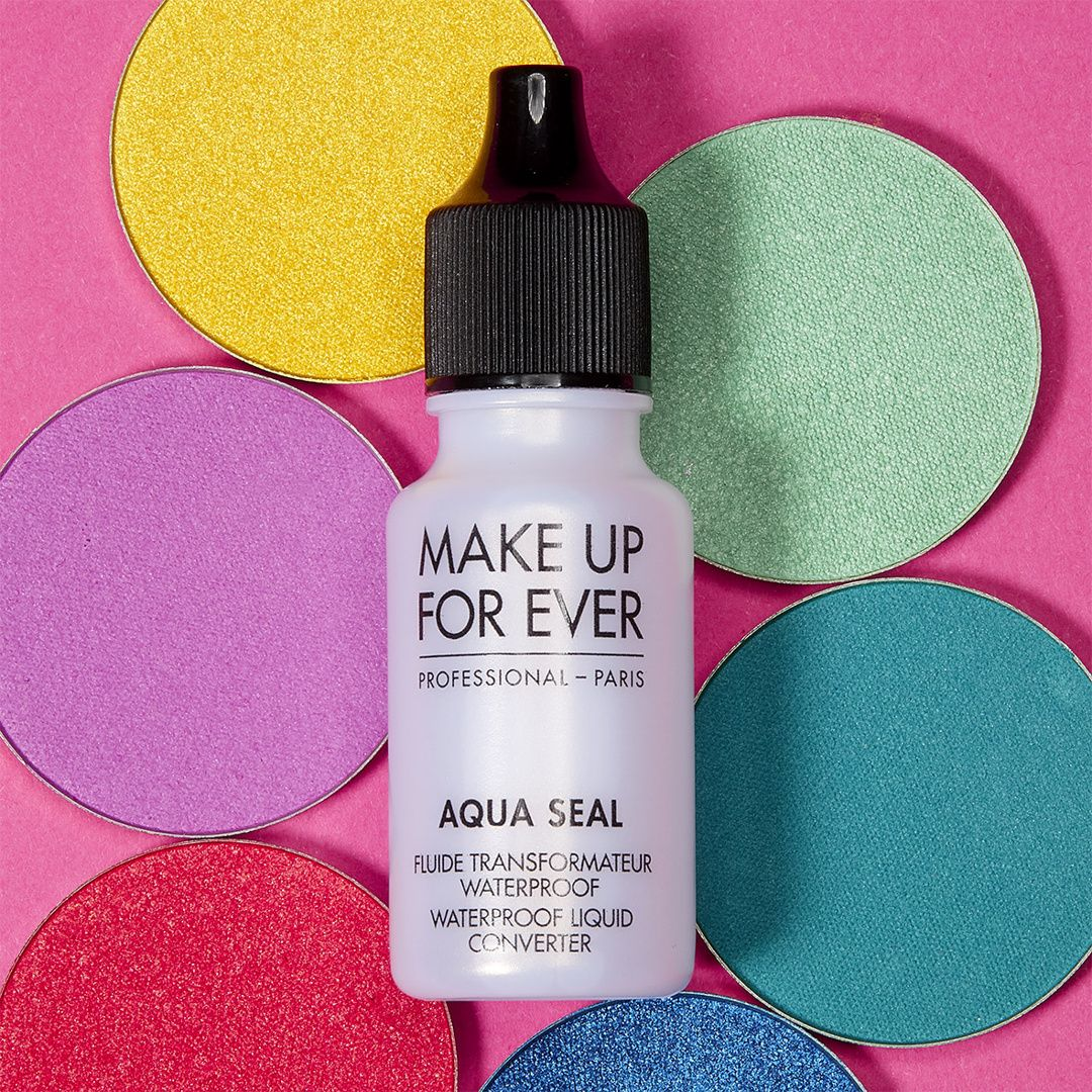 AQUA SEAL transform powder products and eye pencils into