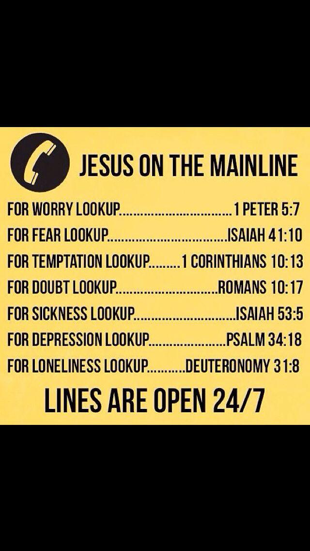 Jesus is the mainline