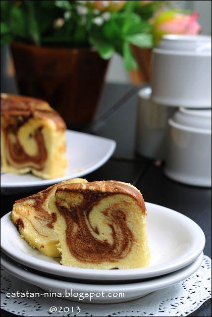 Resep Cake Marmer Lembut
