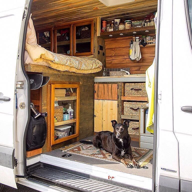 Diy Camper Van Awesome Ideas 44