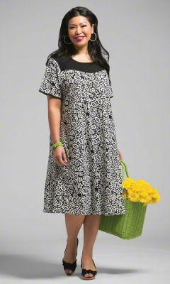 Plus Size Dresses - TEGU DRESS - Plus and Super Plus Size ...