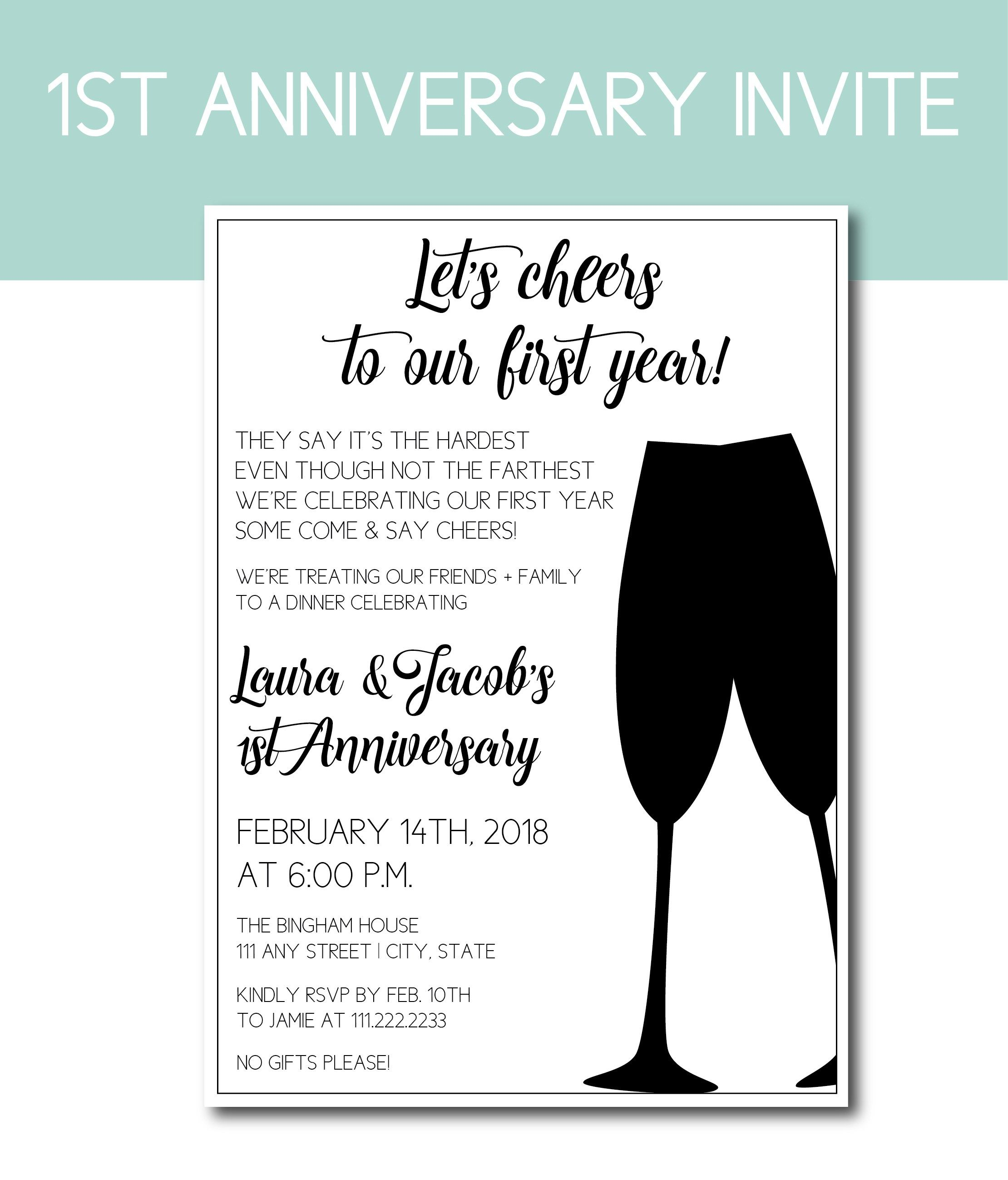 Anniversary Ideas For Milestones Cards And Invites What To Give For Each Year Anniversary Party Invitations Anniversary Party Decorations Wedding Anniversary Party Invitations