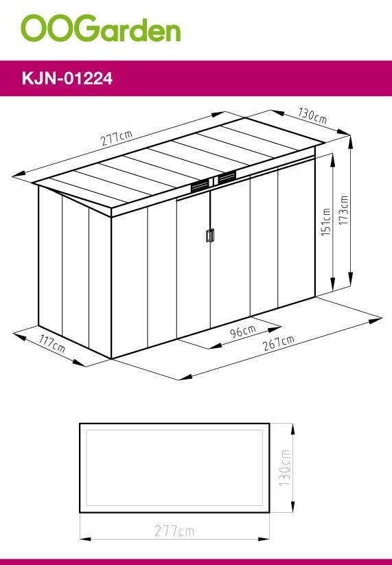 Abri De Jardin En Metal Adossable 3 6 M Gris Anthracite Kit D Ancrage Offert En 2020 Abri De Jardin Abri Abri Metal