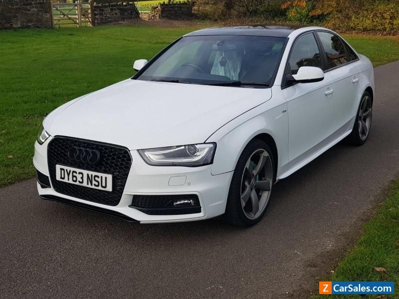 Car For Sale 2013 63 Audi A4 S Line Black Edition Damaged Repaired