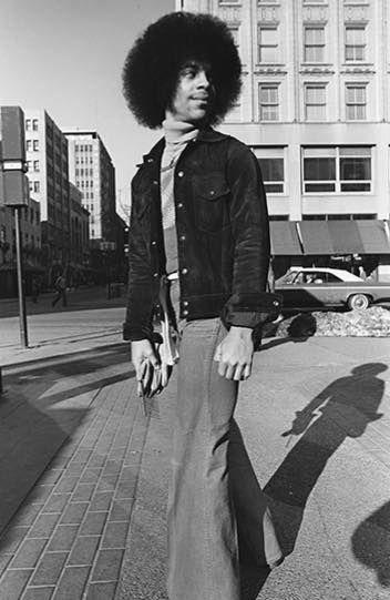 Rare Prince pic 1977.
