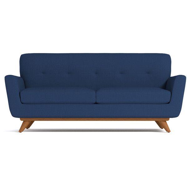 Apt2B Carson Royal Blue Apartment Size Sofa ($1,488) ❤ Liked On Polyvore  Featuring Home. Wohnungsgröße SofaBlaue SofasBlaue MöbelHolzmöbelKönigsblau