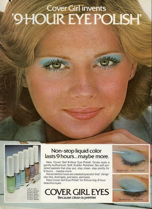 Throw Back Thursday Blue Eyeshadow On Your Wedding Day