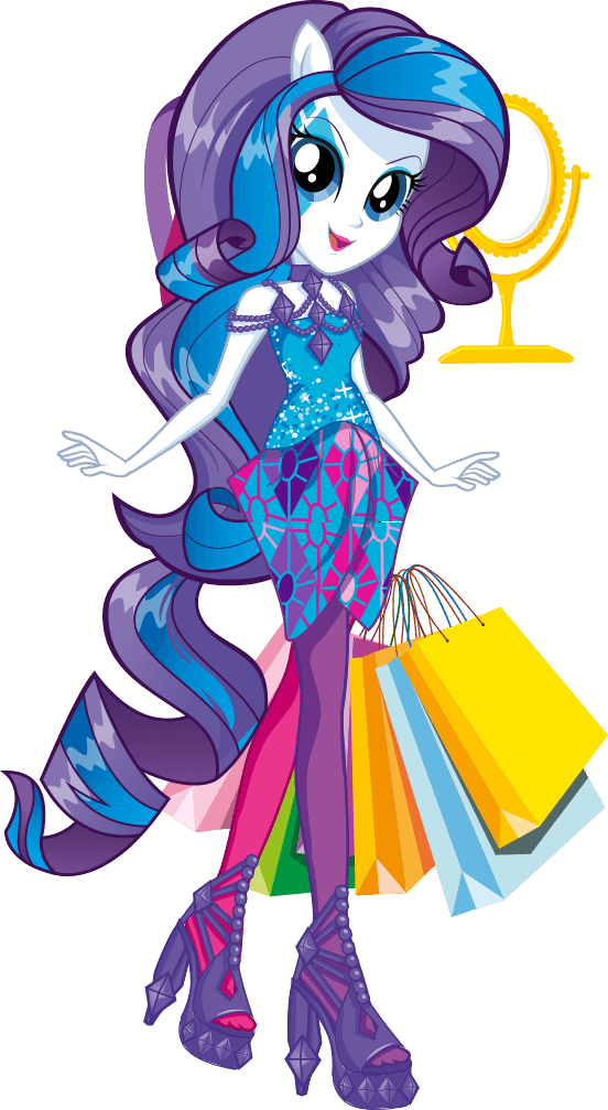One Of The Stars Of My Little Pony Equestria Girls Rainbow Rocks Dahling Though She Plays The