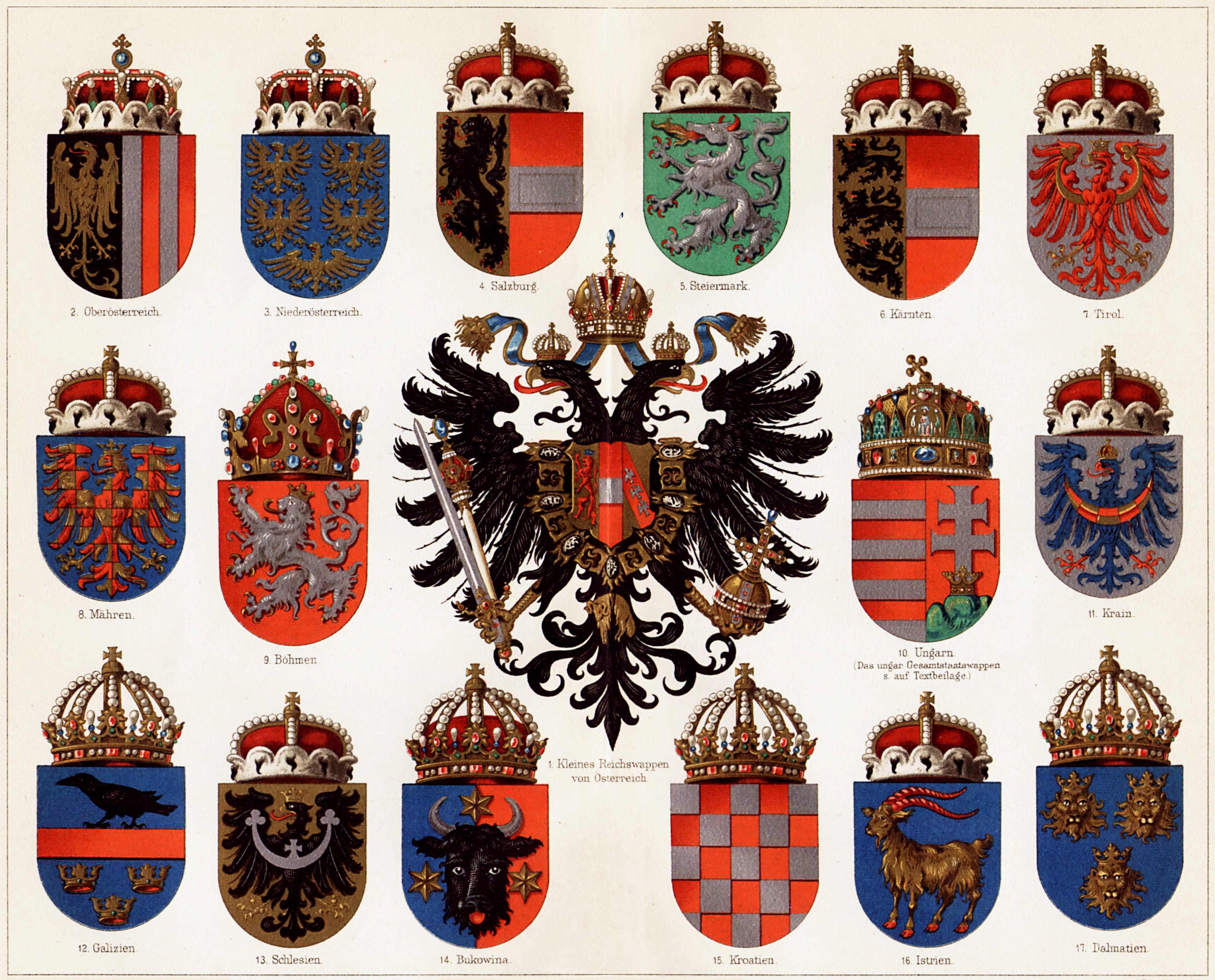 Risultati immagini per austro hungarian empire coat of arms