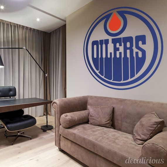 Edmonton Oilers Hockey Decal NHL Canada by decaliciouscom Exclusive