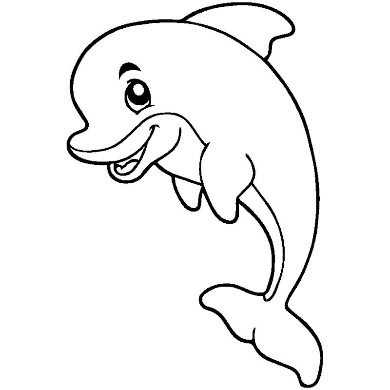 6000 Koleksi Gambar Mewarnai Binatang Ikan HD Terbaru