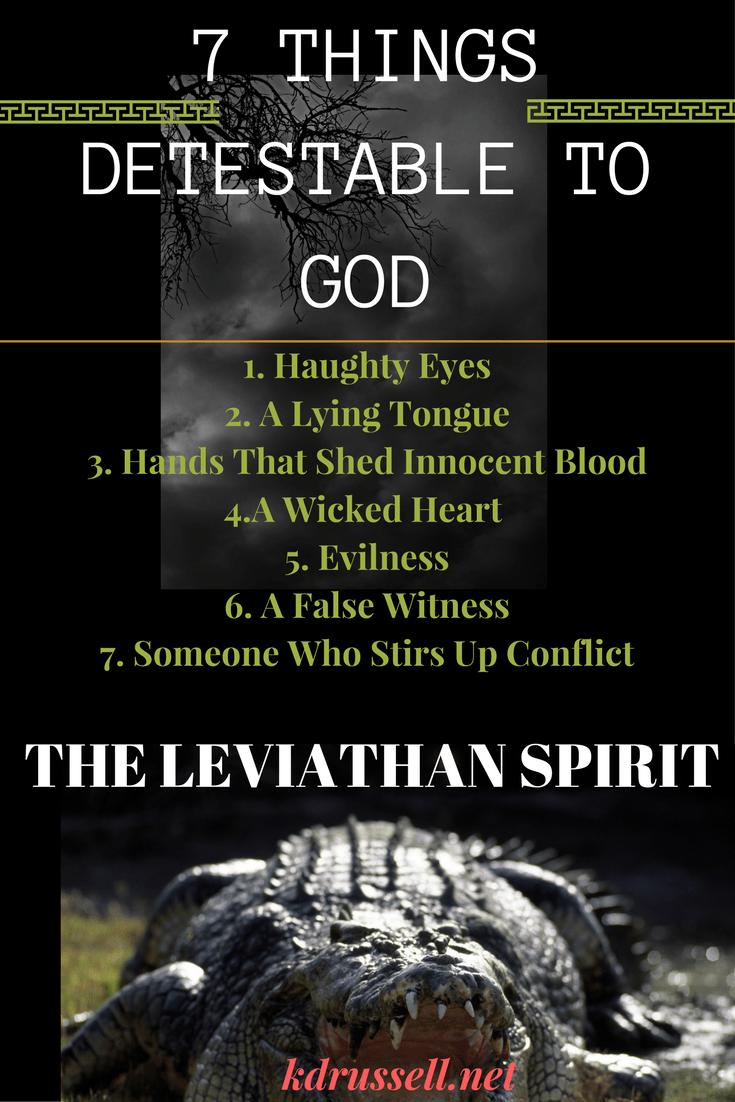 The Leviathan Spirit    | Christian blog shares | Jezebel