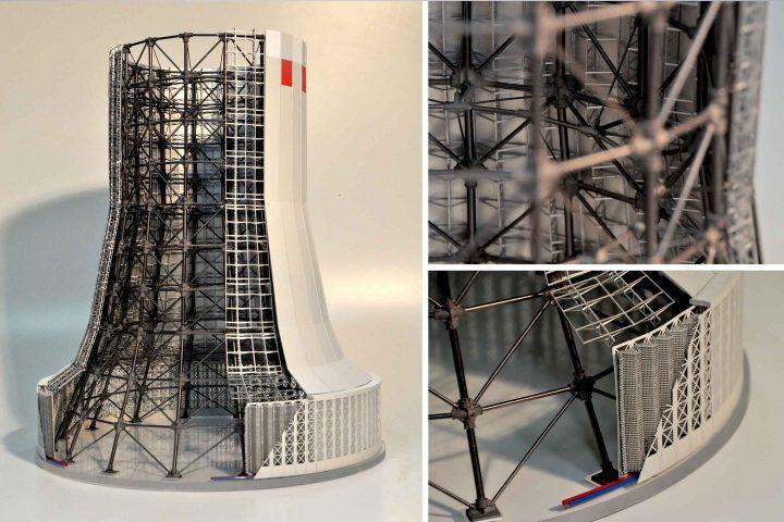 Präsentationsmodelle Contura Modellbau Laserschnitt