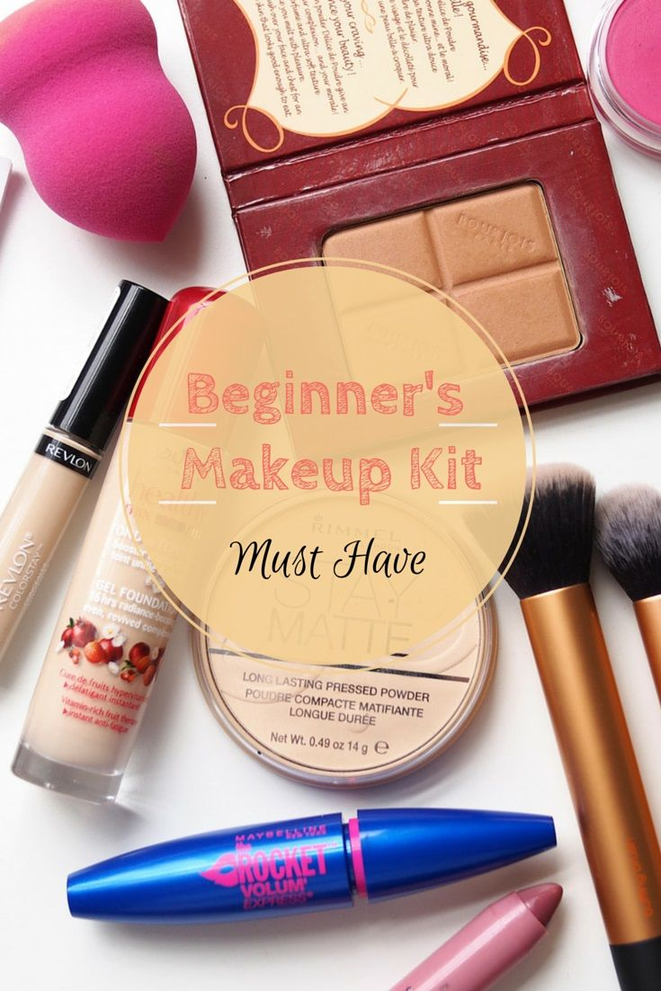 Beginner's Makeup Kit Must Have Foundation, Compact/loose