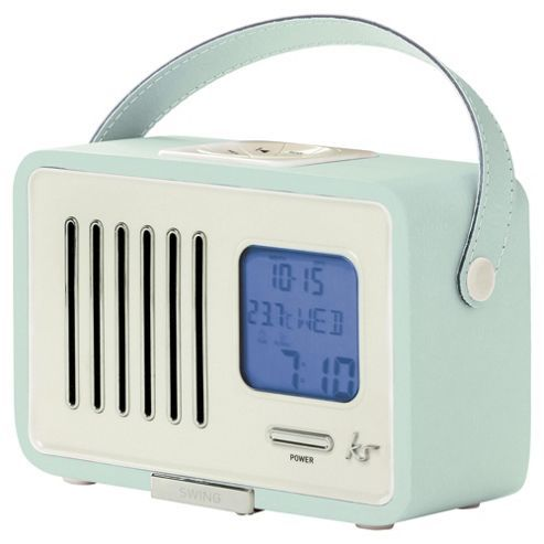 Portable Fm Radio With Alarm Clock
