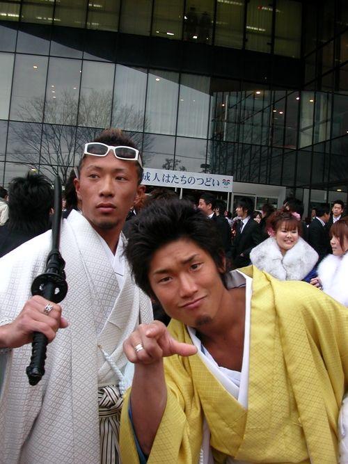 Men in Kimono