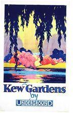 1928 Kew Gardens Promotional  Poster A3 Print