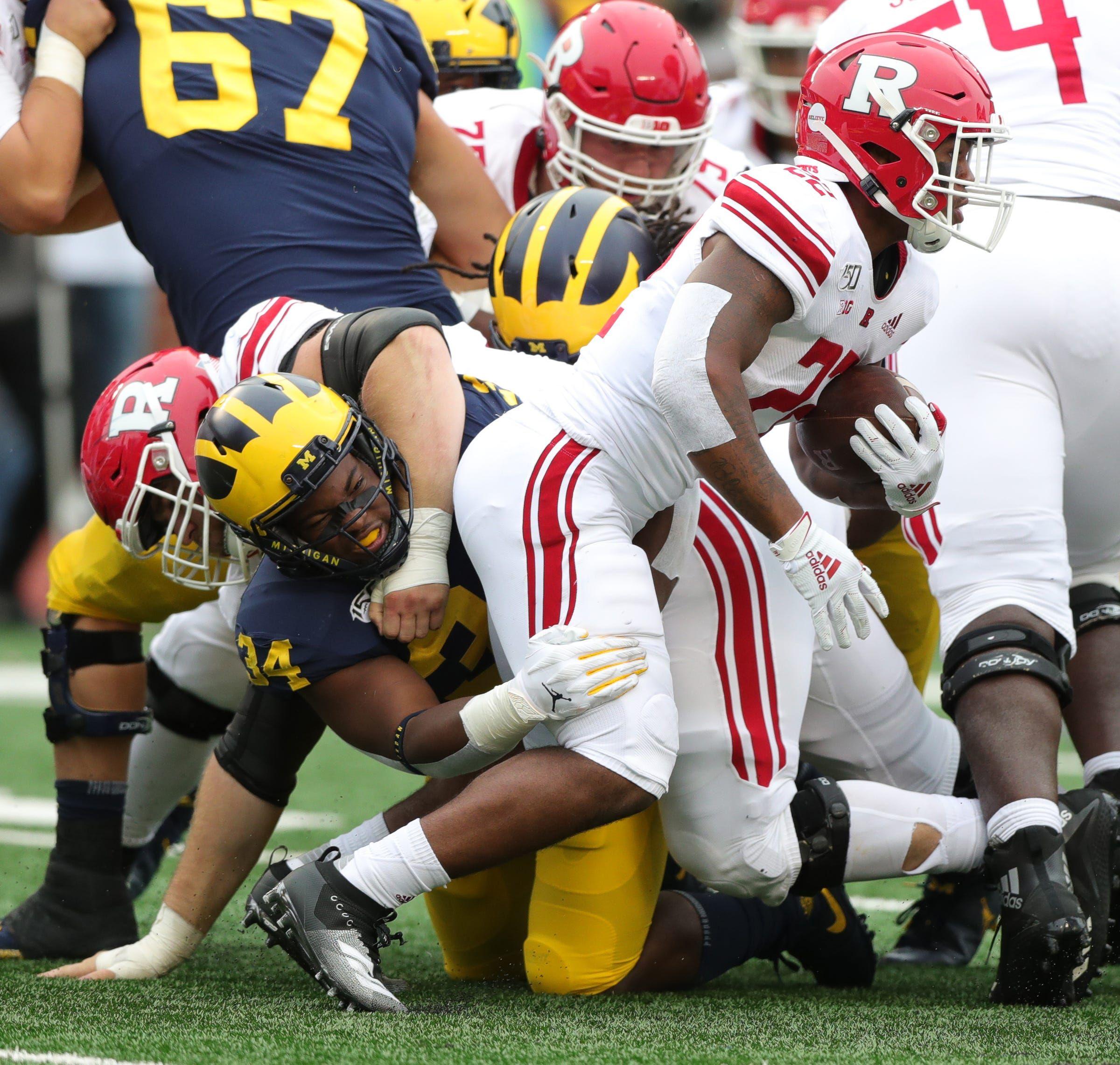 Michigan football linebacker Jordan Anthony enters NCAA