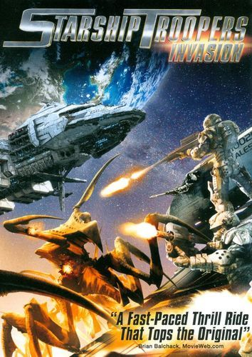 Starship Troopers Invasion Includes Digital Copy Dvd 2012 Best Buy Starship Troopers Starship Starship Troopers 4